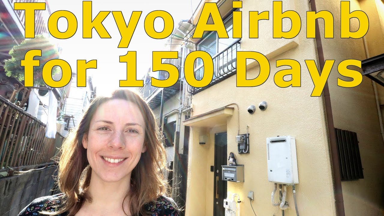 150 Days in a Tokyo Airbnb: The House Tour