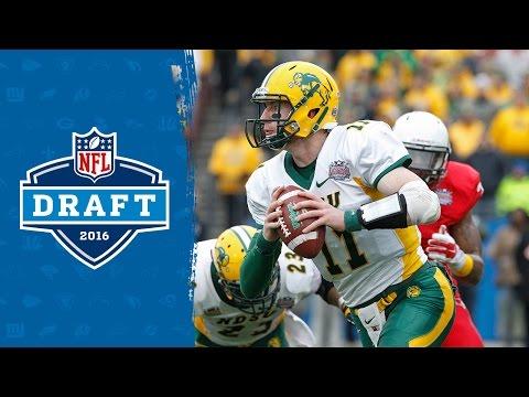 Carson Wentz College Highlights & 2016 Draft Profile   NFL