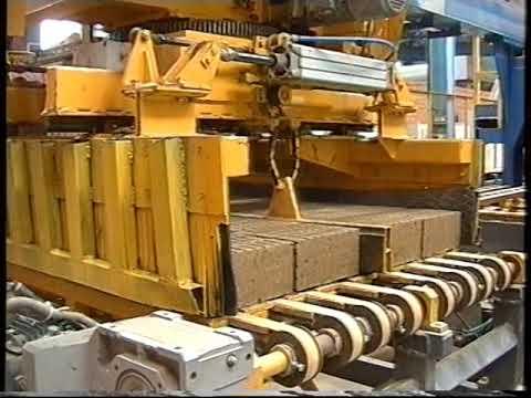 Технологическая линия по производству керамического кирпича.