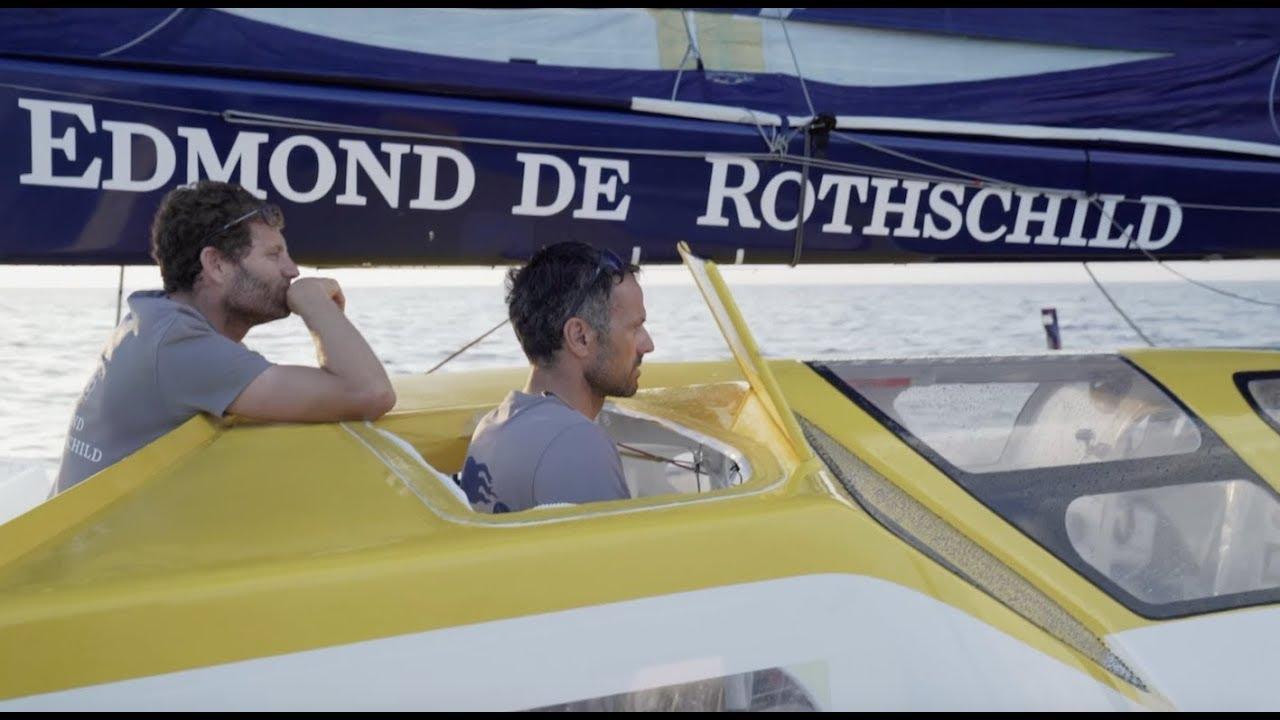 ⛵ Brest Atlantiques: Gitana 17 en tete Bretagne Télé