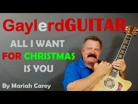 ALL I WANT FOR CHRISTMAS IS YOU By Mariah Carey  - Beginner Guitar Lesson | PREVIEW