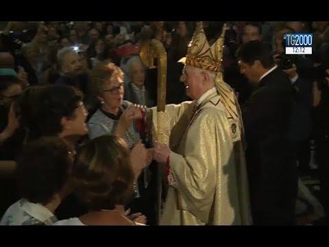 Messa di congedo al duomo di Milano per il cardinale Angelo Scola