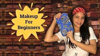 Step By Step Makeup For Beginners in Hindi   Simple Makeup Video   Makeup Karne Ka Tarika in Hindi