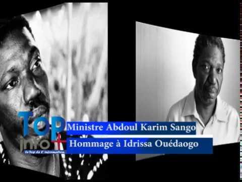 Le ministre de la culture rend hommage au Maestro Idrissa Ouédraogo