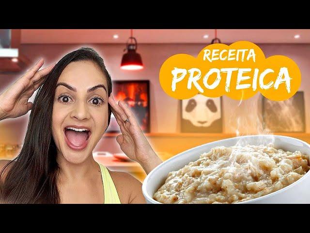 Coma isso todo dia para ganhar/manter MASSA MAGRA! #mingauproteico #receitaproteica