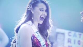 The Winning Moment with CHI at Miss Universe 2018