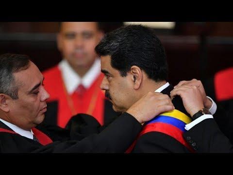 Así fue la polémica toma de posesión de Maduro en Venezuela