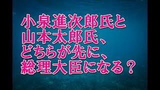 小泉進次郎氏と山本太郎氏、どちらが先に総理大臣になる?