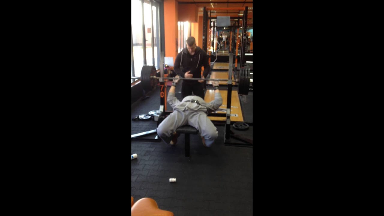 Bench Press 180 Kg 400 Lbs