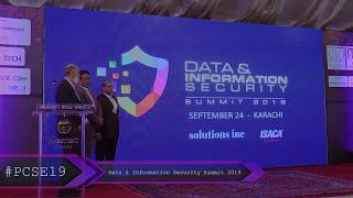 Launch of Data & Information Security Summit 2019 at #PCSE19