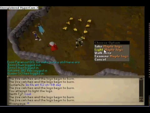 Me Getting 92 99 Firemaking My 2nd Wc Now Fm