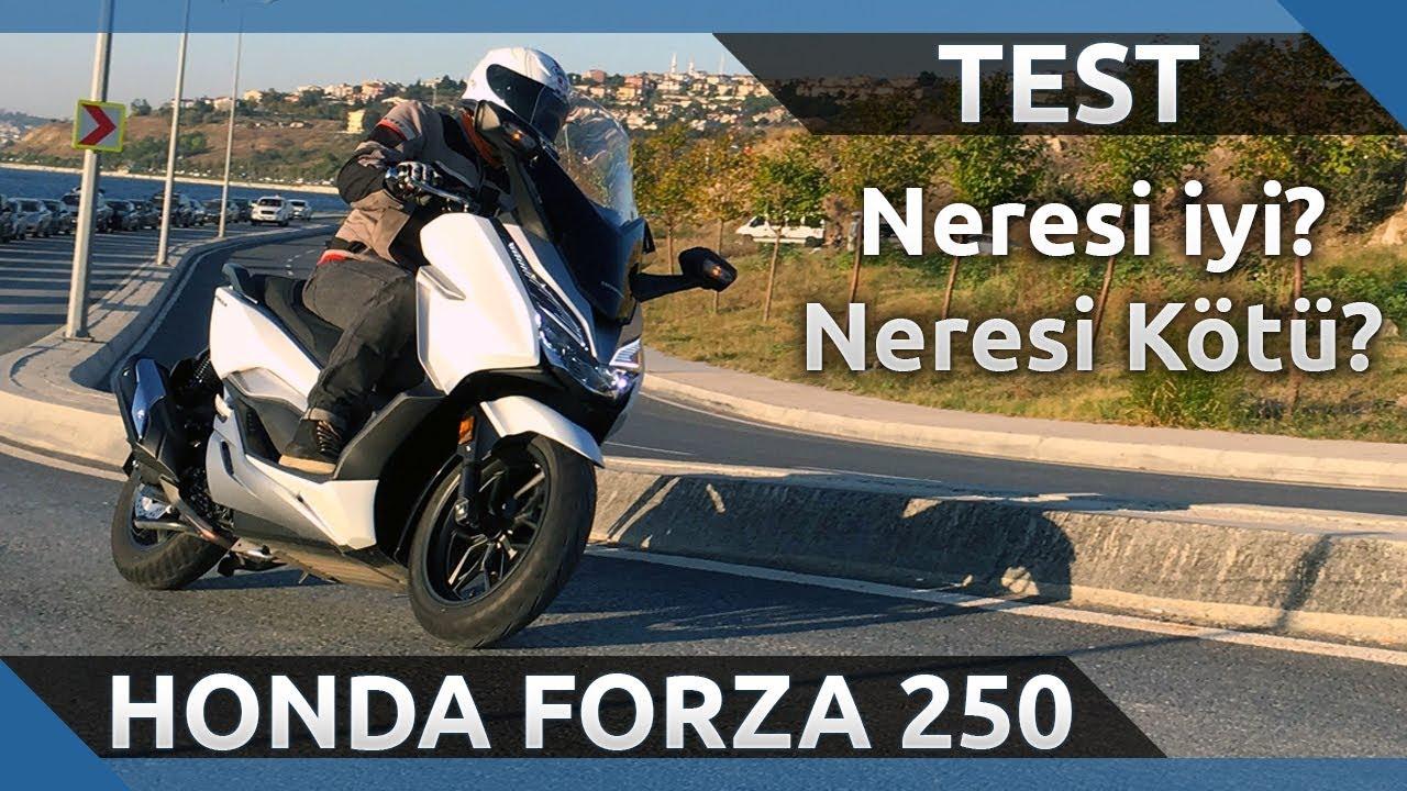 2018 Honda Forza 250 İnceleme - Neresi iyi? Neresi Kötü?