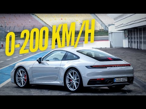 2020 Porsche 911 Carrera S needs 10 seconds to hit 124 mph