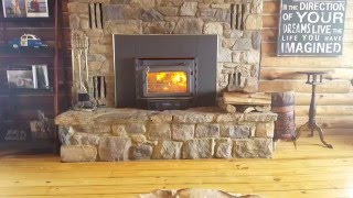 Heating a Cabin With Only a Wood Stove, Surviving The Cold