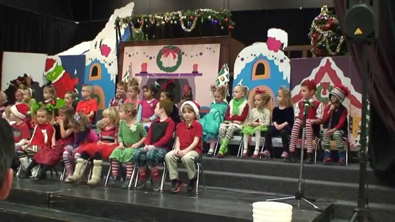 HOW THE GRINCH STOLE CHRISTMAS (SCHOOL PLAY) - YouTube