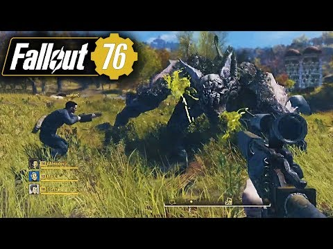 Fallout 76 NEW FULL GAMEPLAY & UPDATES - Online Multiplayer, Solo Play, Regions & More! (Fallout 76)