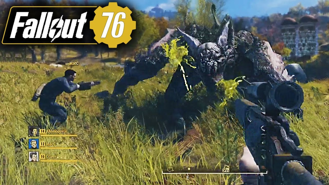 Fallout 76 NEW FULL GAMEPLAY & UPDATES - Online ...