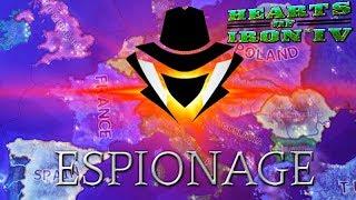 ESPIONAGE MOD Hearts of Iron 4 Espionage Mod Gameplay