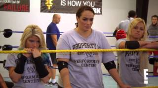 Paige trains Cameron at the WWE Performance Center  Total Divas Preview Clip  September 1, 2015