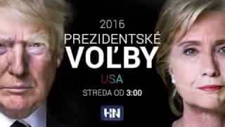 Sledujete prezidentské voľby USA na HNtelevízií v stredu od 3.00 hod. NAŽIVO