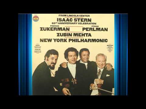 Vivaldi - Concerto For Three Violins - Stern, Zukerman,  Perlman - Mehta