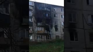 Пожар в Яхроме Ленина 27