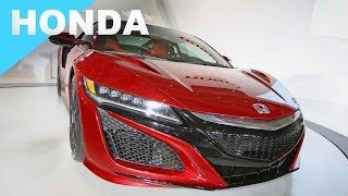 Honda - 2016 世界新車大展   特別報導