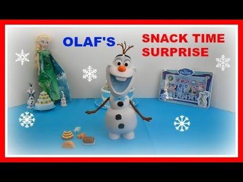 Disney Olaf/'s Frozen Adventure Snack-Time Surprise