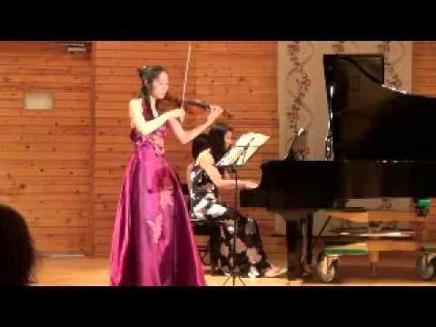 第8回 コミングル@蓼科 Beethoven Violin Sonata No.9 Kreutzel  梅津美葉と山上華子