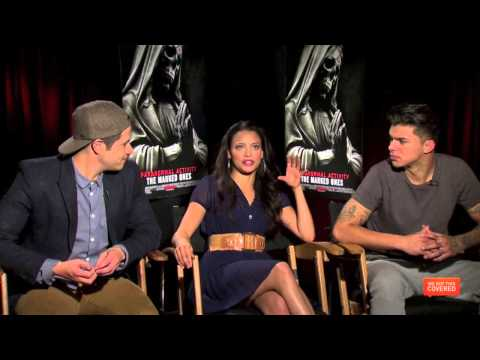Paranormal Activity: The Marked Ones Interview With The Cast [HD]