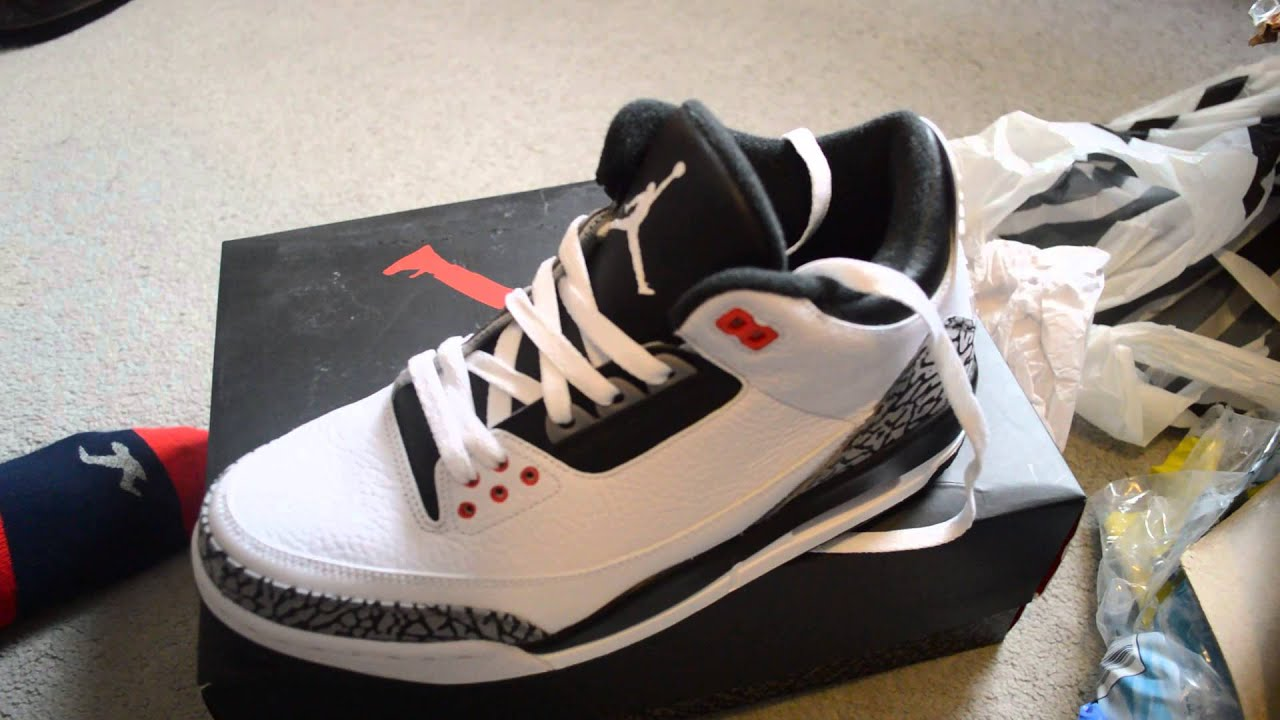 feb4d4aebbb38a AIR JORDAN 3 RETRO INFRARED 23 Unboxing + Review + on Foot - YouTube