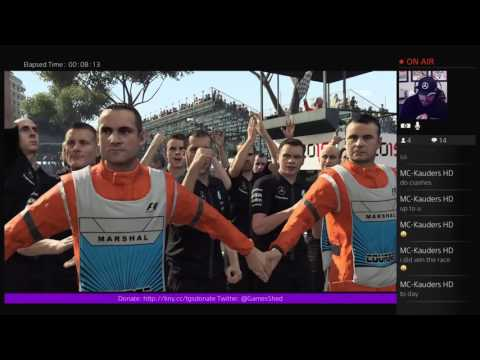 F1 2015 for the PlayStation 4 - Livestream archive