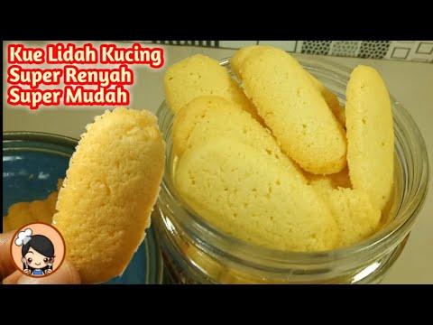 Resep Kue Kering Lidah Kucing Super Renyah