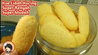 Download Resep KUE KERING LIDAH KUCING SUPER RENYAH Mp3