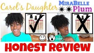 Carol's Daughter Mirabelle Plum Review & Demo   AsToldByAllie
