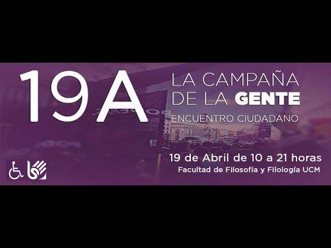 Encuentro Ciudadano de la Comunidad Autónoma de Madrid.