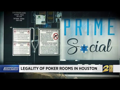 Legality Of Poker Rooms In Houston