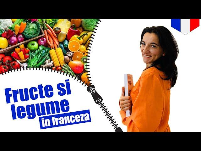 Fruits et légumes en français | VOCABULAIRE | CC Sub RO EN FR