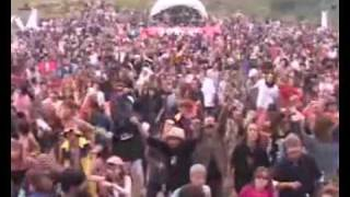 Open Air Psy Trance Party - People Dancing