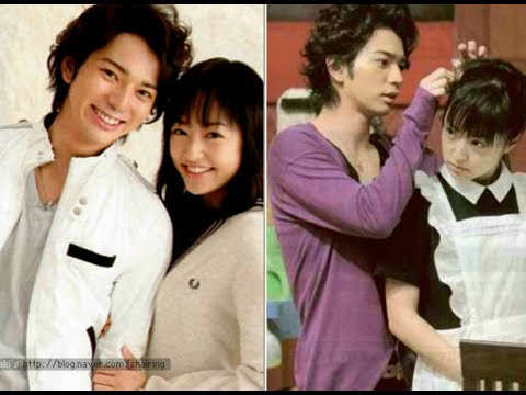 Matsumoto Jun And Inoue Mao SWEET MOMENTS - Off And On Cam
