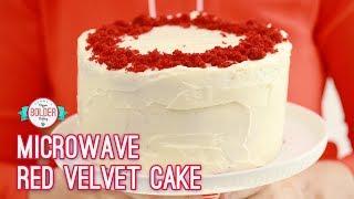 3-Layer Microwave Red Velvet Cake   Bigger Bolder Baking
