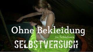 ⚠️Ohne Bekleidung im Schlafsack Teil II - Das 5° Experiment - Böse Überraschung - Vanessa Bushcraft