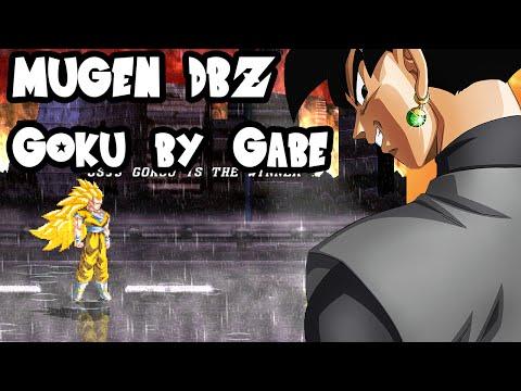 Mugen Dragon Ball - Ssj3 Goku By Gabe555