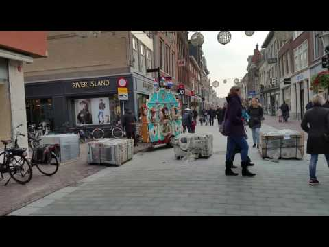 Street organ in Alkmaar