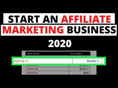 How to Start an Affiliate Marketing Business in 2020