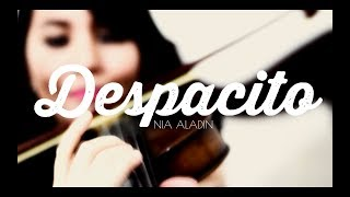 DESPACITO - Luis Fonsi, Daddy Yankee, Justin Bieber | Violin Harp Cover by Nia Aladin Resimi