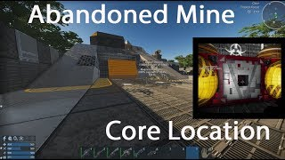 Abandoned Mine Core location in Empyrion Galactic Survival