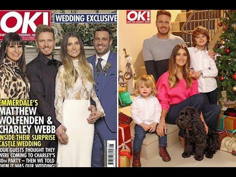 Emmerdale stars Charley Webb and Matthew Wolfenden marry in secret ceremony  - 247 News