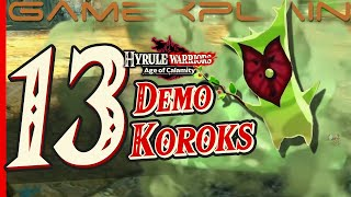 All 13 Korok Seed Locations In Hyrule Warriors Age Of Calamity Demo Guide Walkthrough Youtube