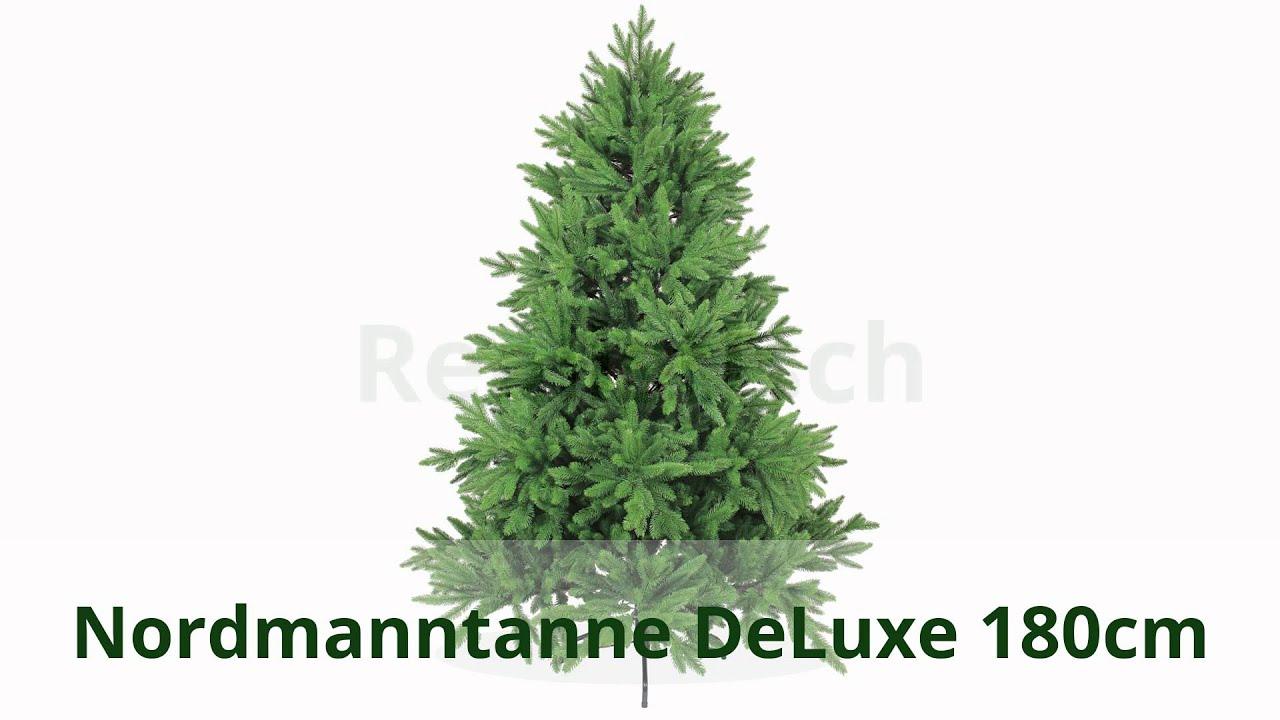 k nstlicher weihnachtsbaum gr n mit spritzguss zweigen und nadeln youtube. Black Bedroom Furniture Sets. Home Design Ideas